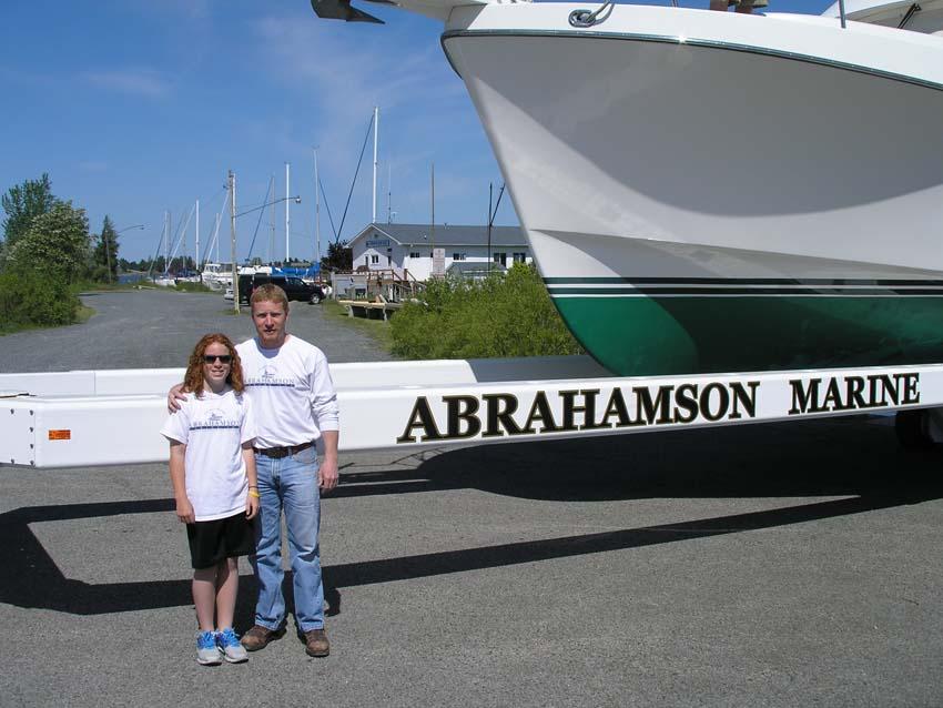 Abrahamson Marine in Ludington